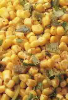Corn with Chilies and Coconut Milk